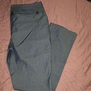 Black/Dark Grey Dress Pants